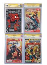 Lot 2036: Lot of 9: Graded Contemporary Comic Books.