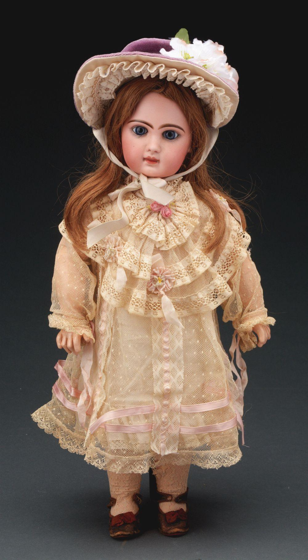 Lot 2051: French Bisque Bebe by Jumeau.