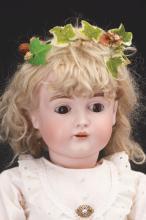 Lot 2067: Lot of 2: German Bisque Head Dolls.