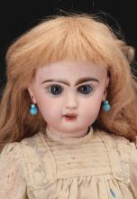 Lot 2074: Lot of 2: Open Mouth Jumeaux Dolls.