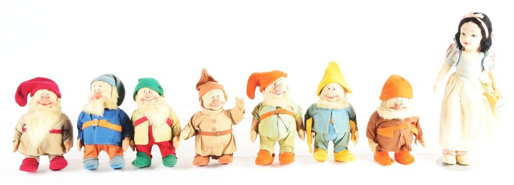 Lot 2080: Chad Valley Snow White and The Seven Dwarfs.