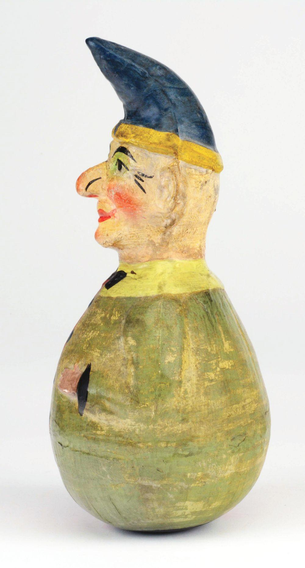 Lot 2081: Large Roly Poly Clown.
