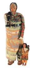 Lot 2089: Lot of 2: Skookum Dolls.