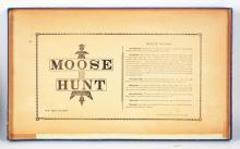Lot 2097: Moose Hunt Board Game in Box.