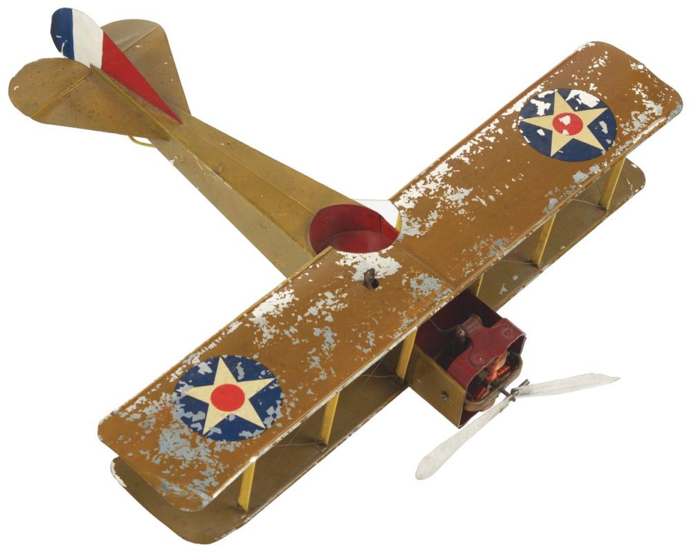 Lot 2100: Early Rare & Unusual Rittenhouse Electric Airplane.