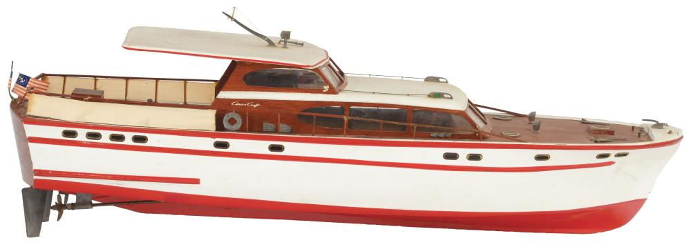 Chris-Craft Boat.