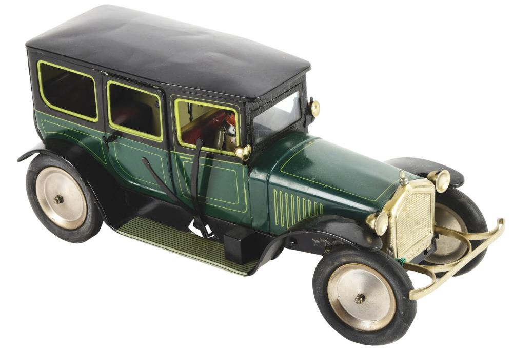 German Tin-Litho Bing Clockwork Limousine.