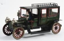 Lot 2135: Early Carette Clockwork Limousine.