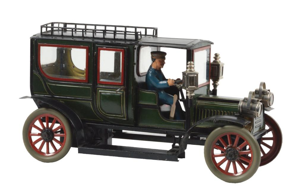 Early Carette Clockwork Limousine.