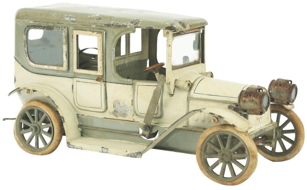 German Carrette Clockwork Automobile, Sedan Version.