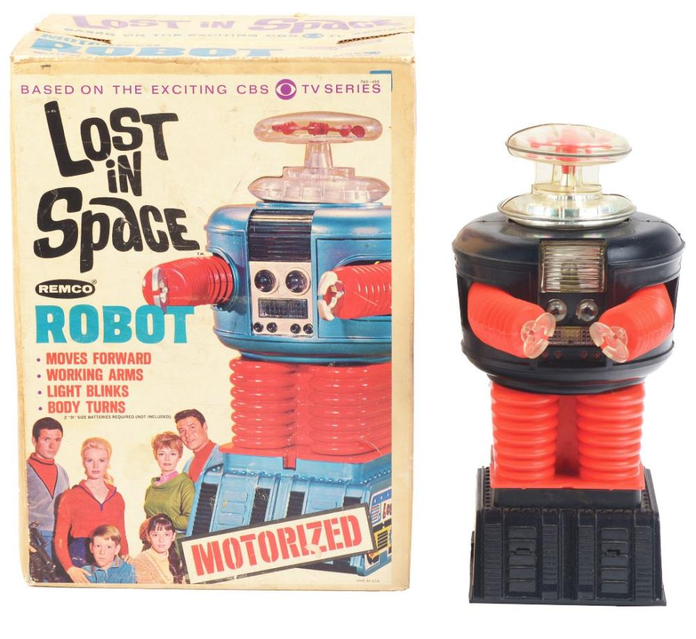 Lost In Space Battery-Operated Robot Toy in Original Box.