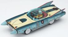 Lot 2194: Tin-Litho Friction T.V. Space Patrol.