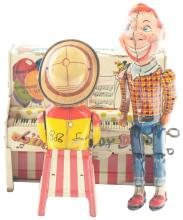 Lot 2259: Unique Art Tin-Litho Wind-Up Howdy Doody Band.