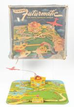 Lot 2287: Lot of 3: Various American Made Airplane & Garage Toys.