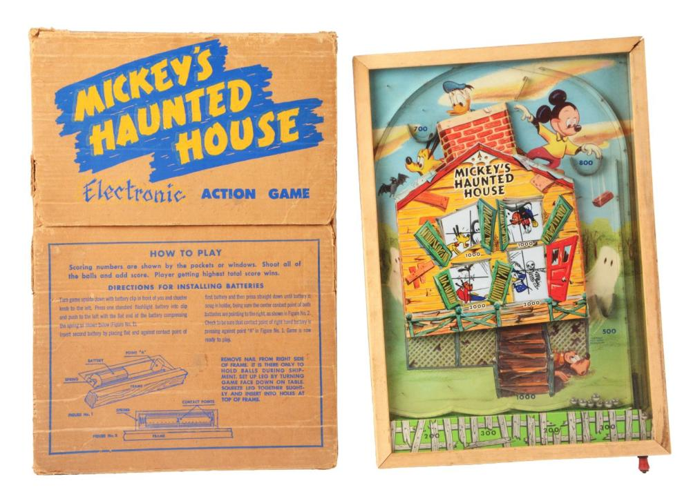 Lot 2288: Lot of 3: Various American & German Made Toys.