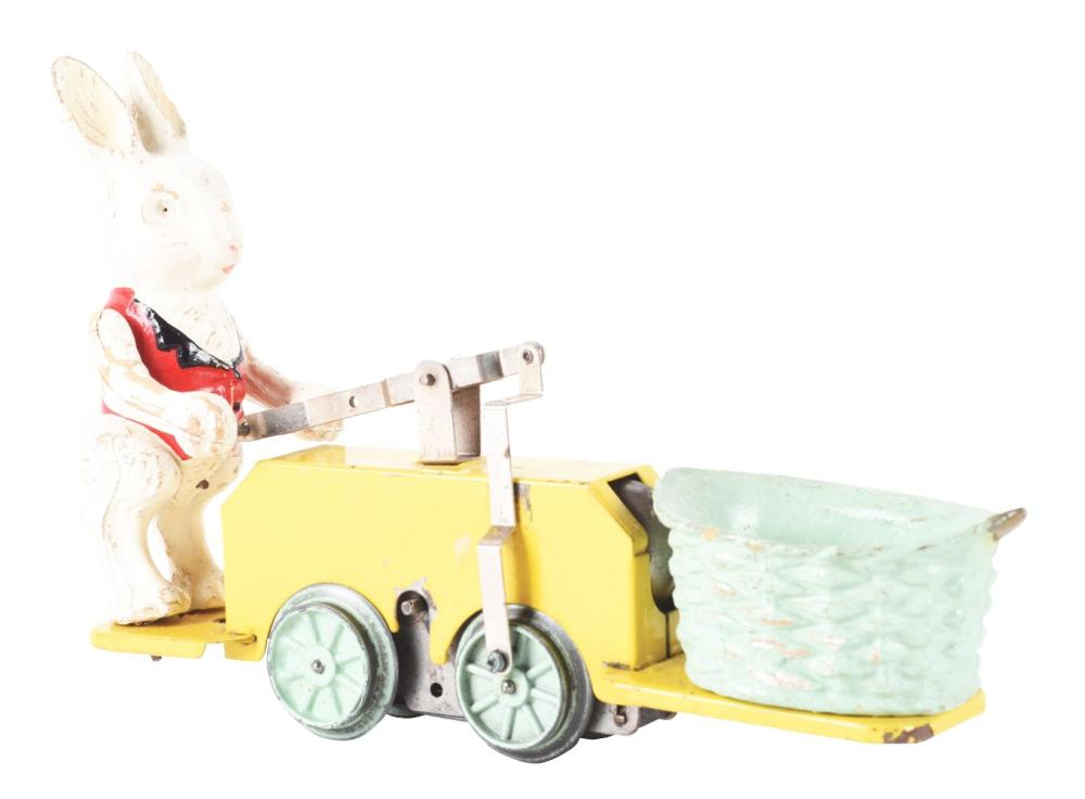 Lot 2325: Lionel Peter Rabbit Chick-Mobile Wind-Up.