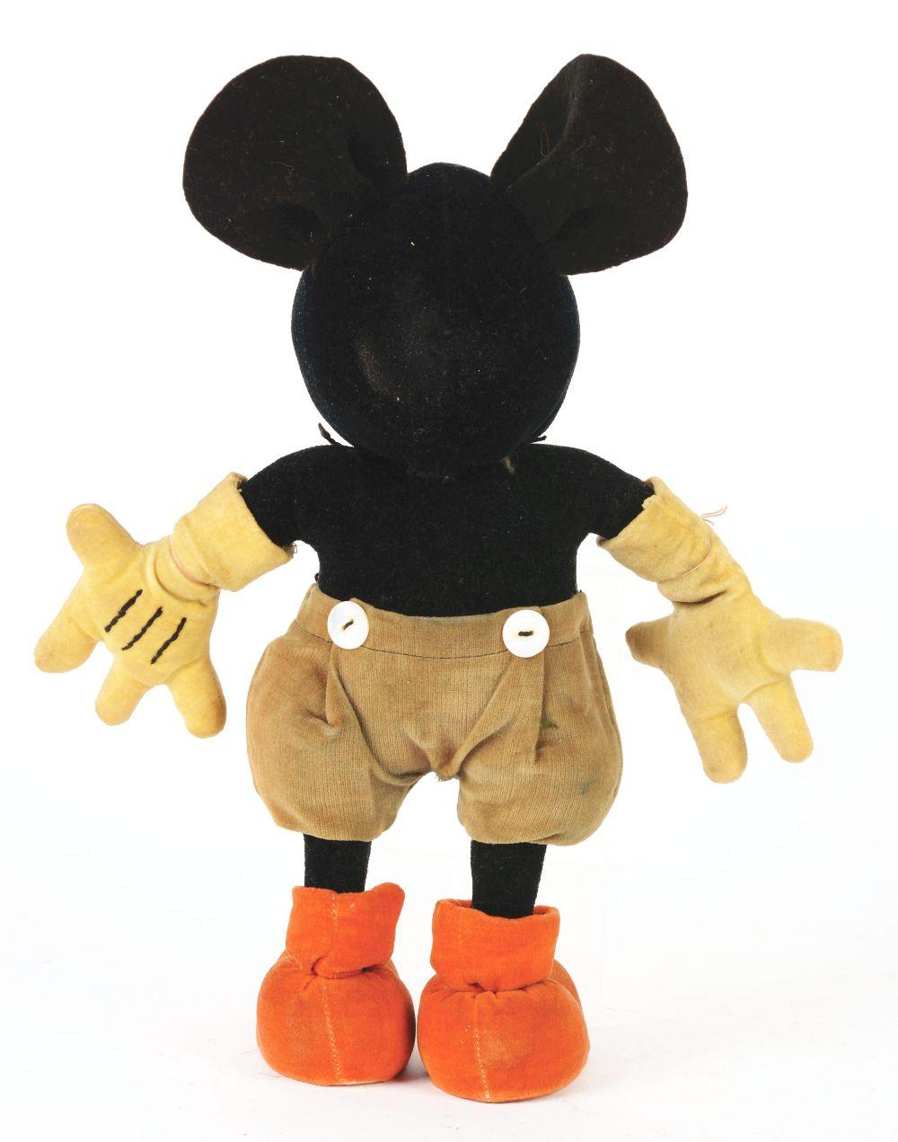Lot 2334: Walt Disney Pre-War Steiff Mickey Mouse Doll.