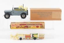 Lot 2351: Lot of 2: Marx Roy Rogers Vehicle Toys.