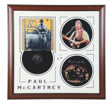 Lot 2355: Paul McCartney Autographed Ram Album Display.
