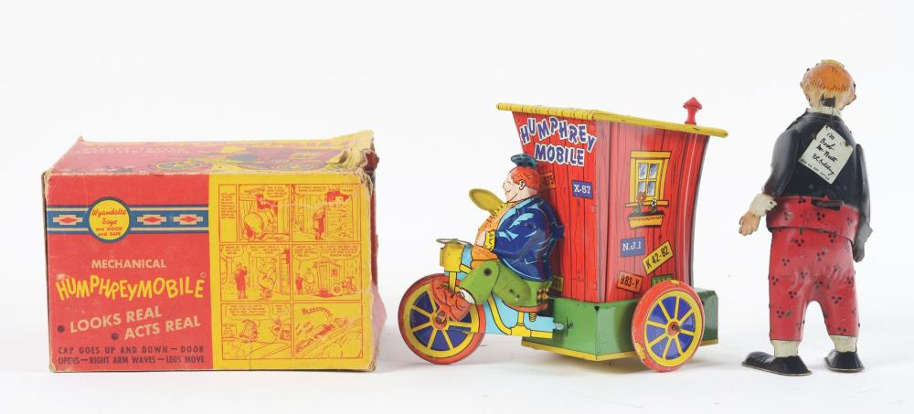 Lot 2378: Lot of 2: American Made Comic Character Toys.