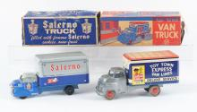 Lot 2381: Lot of 2: Marx Transportation Trucks.