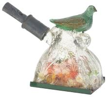 Lot 2460: Bird on Mound Candy Container.