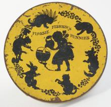 Lot 2466: Flossie Fisher Table Candy Container.