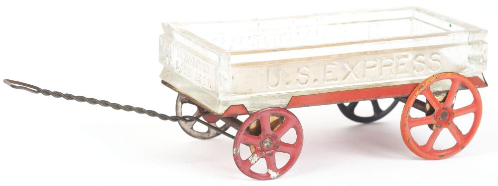 Lot 2472: U.S. Express Wagon Candy Container.