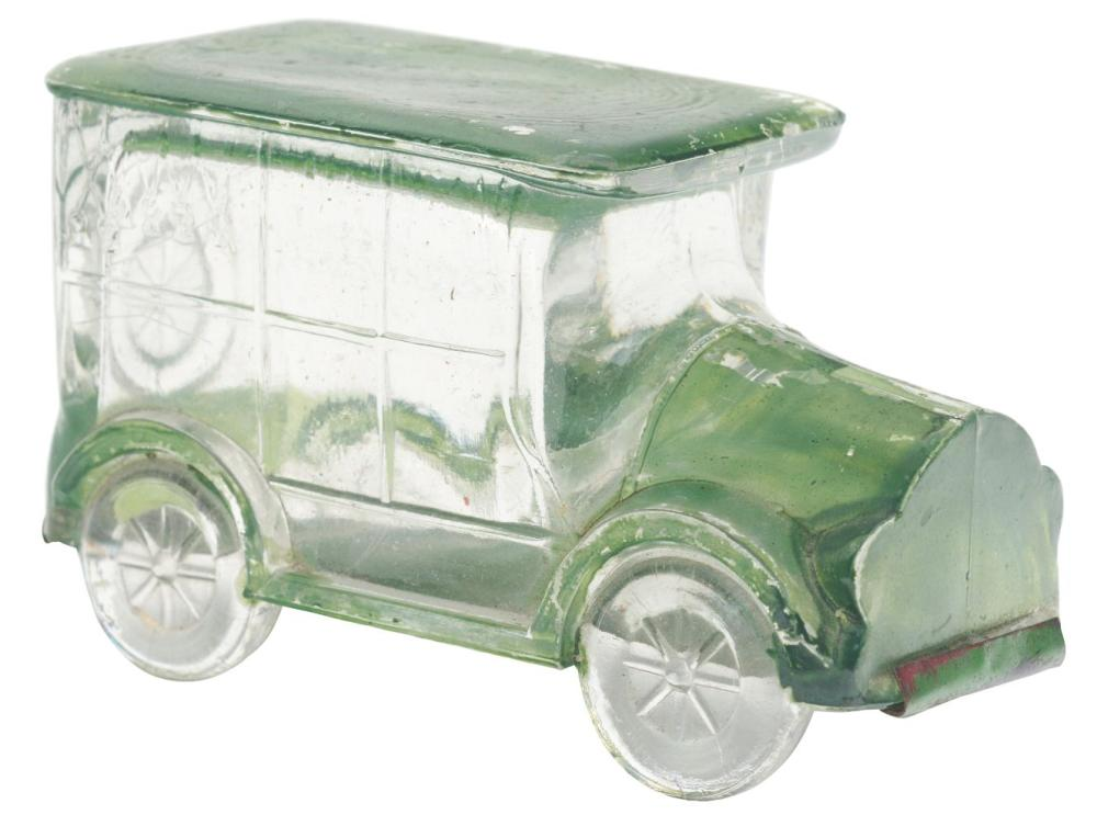 Lot 2471: Flat-Top Hearse Car Candy Container.