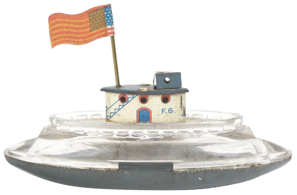 Lot 2475: Submarine Boat Candy Container.