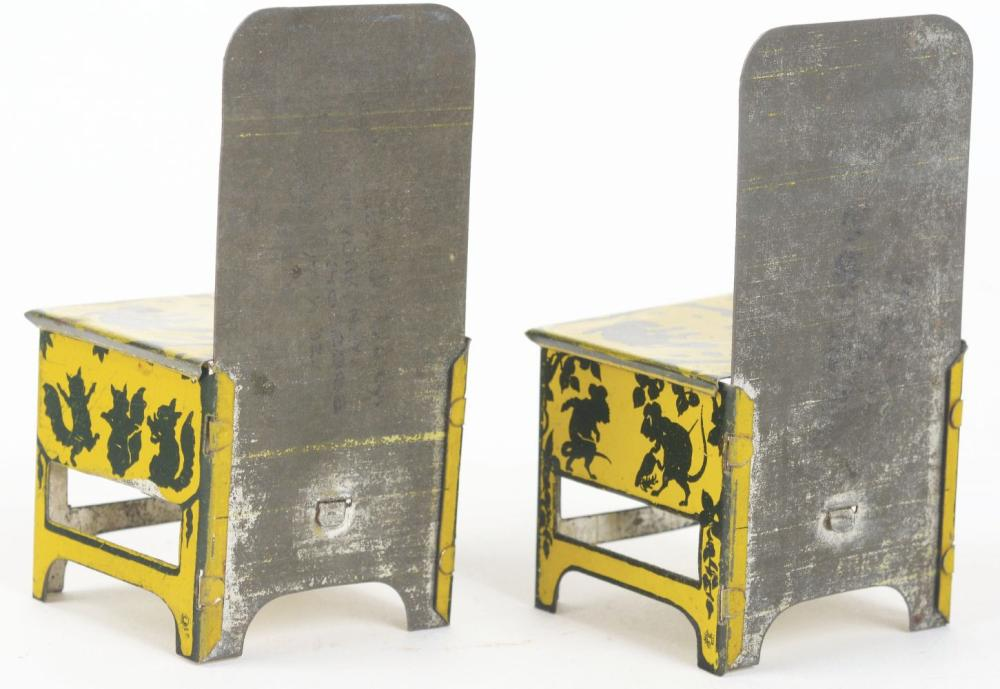 Lot 2485: Lot of 2: Flossie Fisher Chairs.