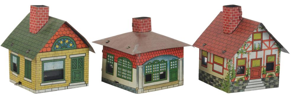 Lot 2489: Lot of 3: House Candy Containers.