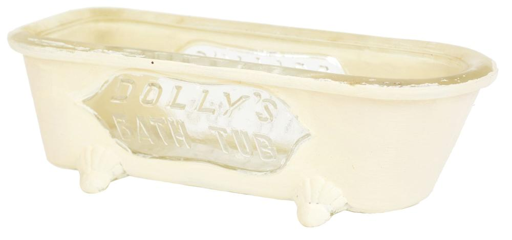 Lot 2505: Dolly's Bathtub Candy Container.