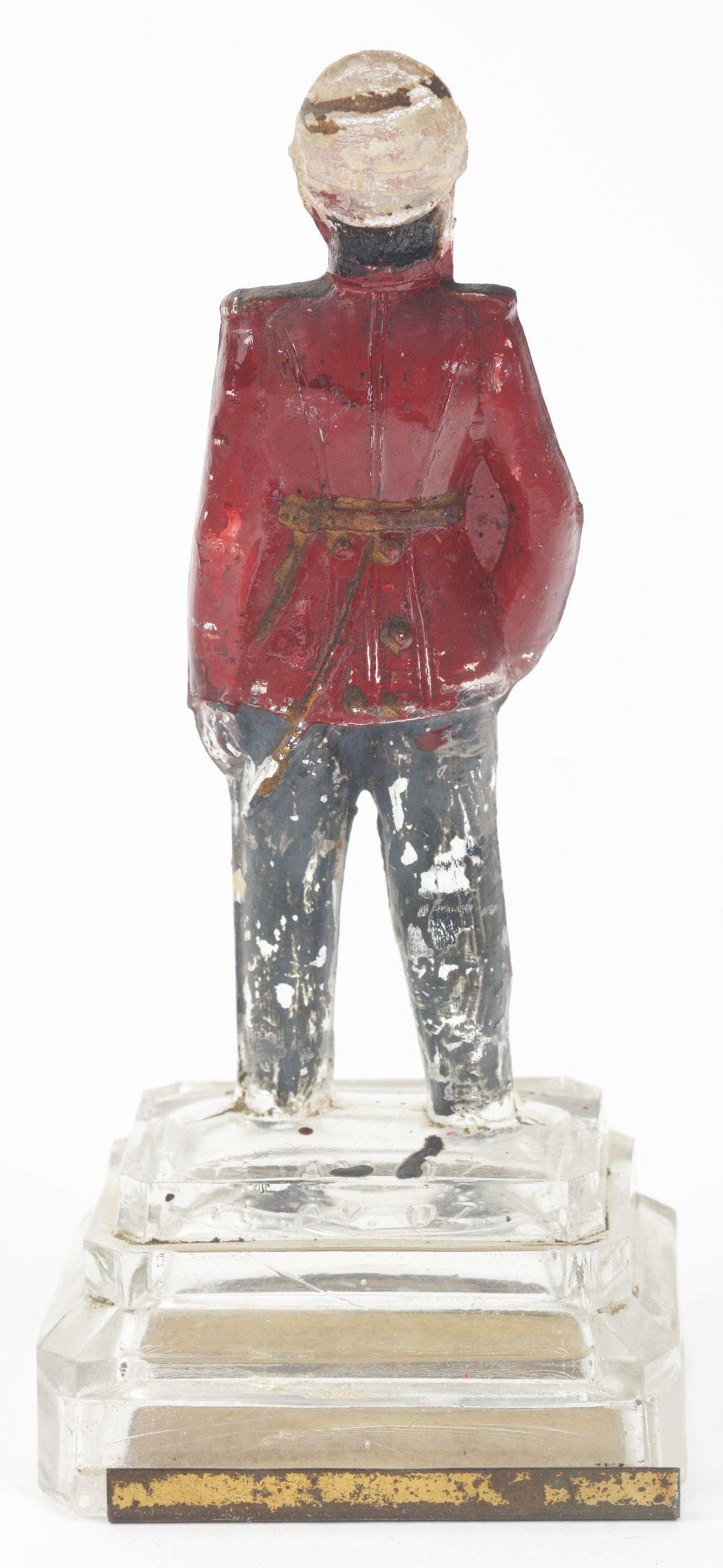 Lot 2507: Soldier with Sword Candy Container.