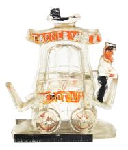 Lot 2497: Toonerville Trolley Candy Container.