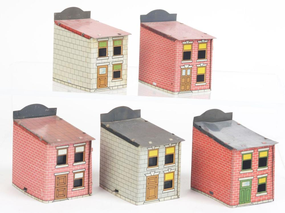 Lot 2510: Lot of 5: Store Front Candy Containers.