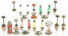 Lot 2520: Lot of 13: Lamps & Lantern Related Candy Containers.