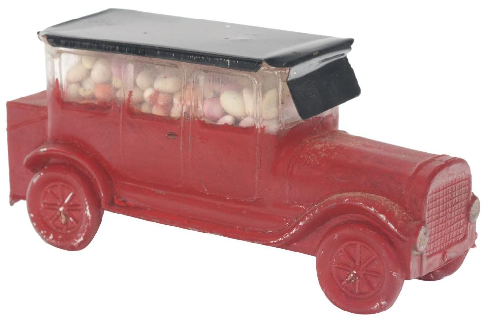 Lot 2526: The Car Limousine with Rear Trunk Candy Container.