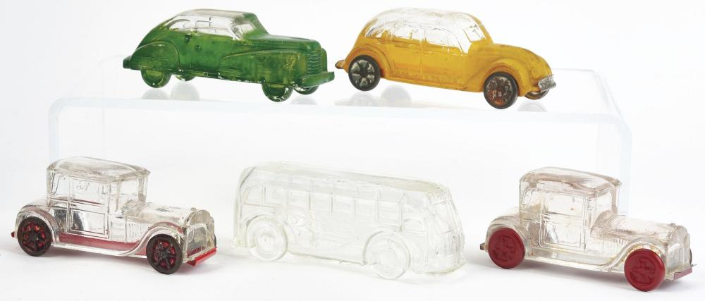 Lot 2531: Lot of 5: Car Candy Containers.