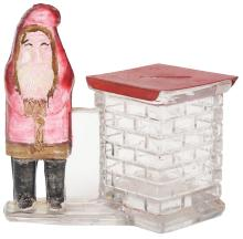 Lot 2547: Santa by Square Chimney Candy Container.