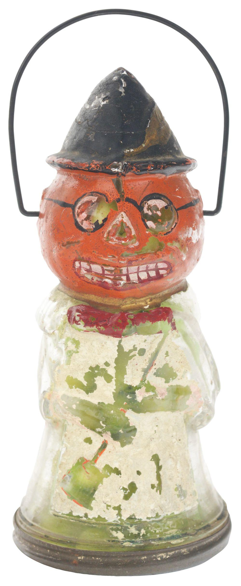 Lot 2546: Pumpkin Head Witch.