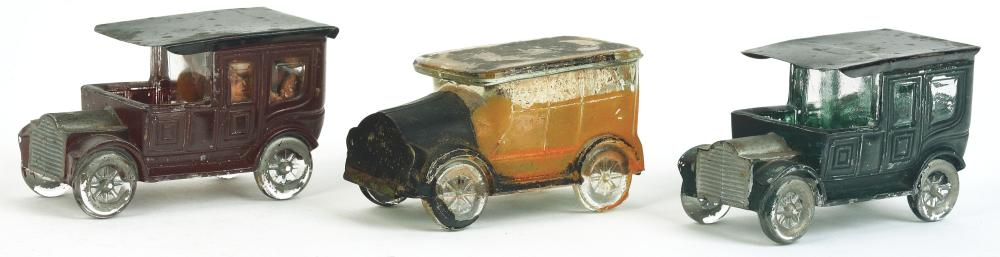 Lot 2553: Lot of 3: Car Candy Containers.