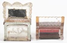Lot 2558: Lot of 2: Furniture Related Candy Containers.