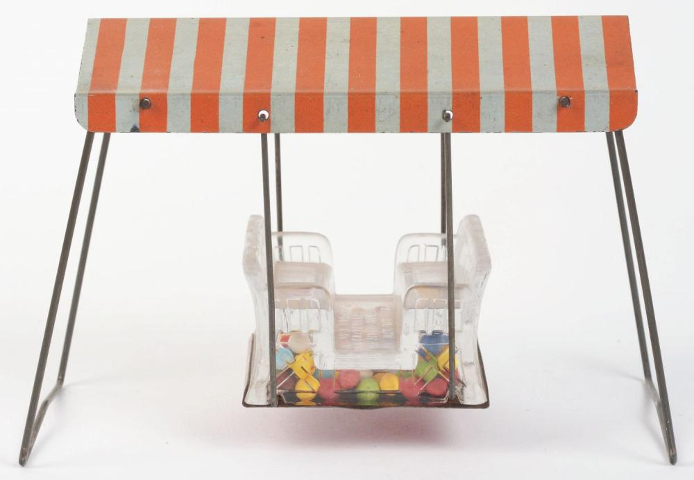 Lot 2569: Lawn Swing Candy Container.
