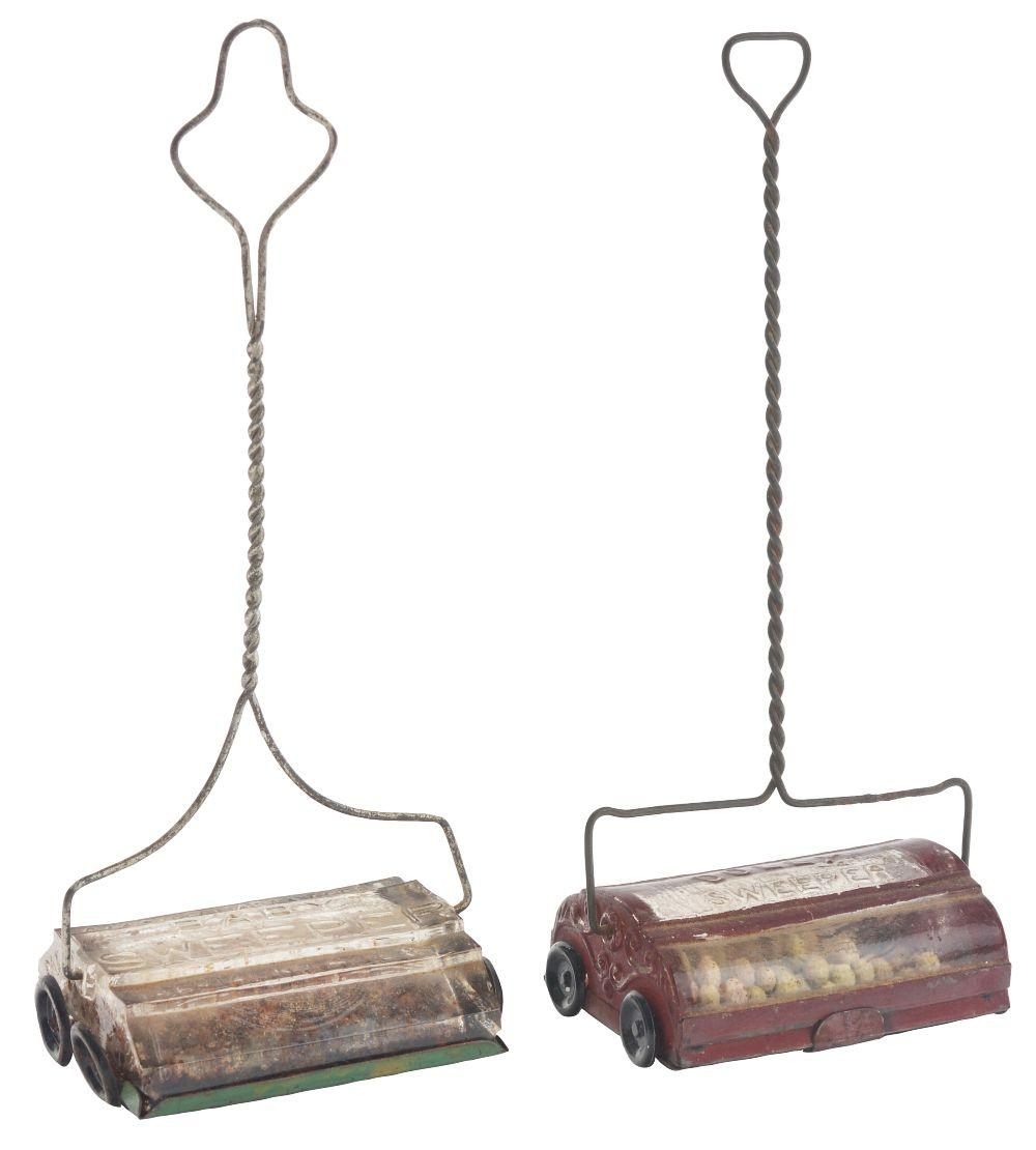 Lot 2577: Lot of 2: Sweeper Candy Containers.