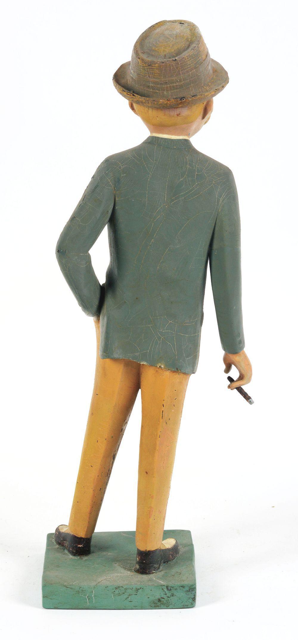 Lot 2583: Esquire Advertising Figure.