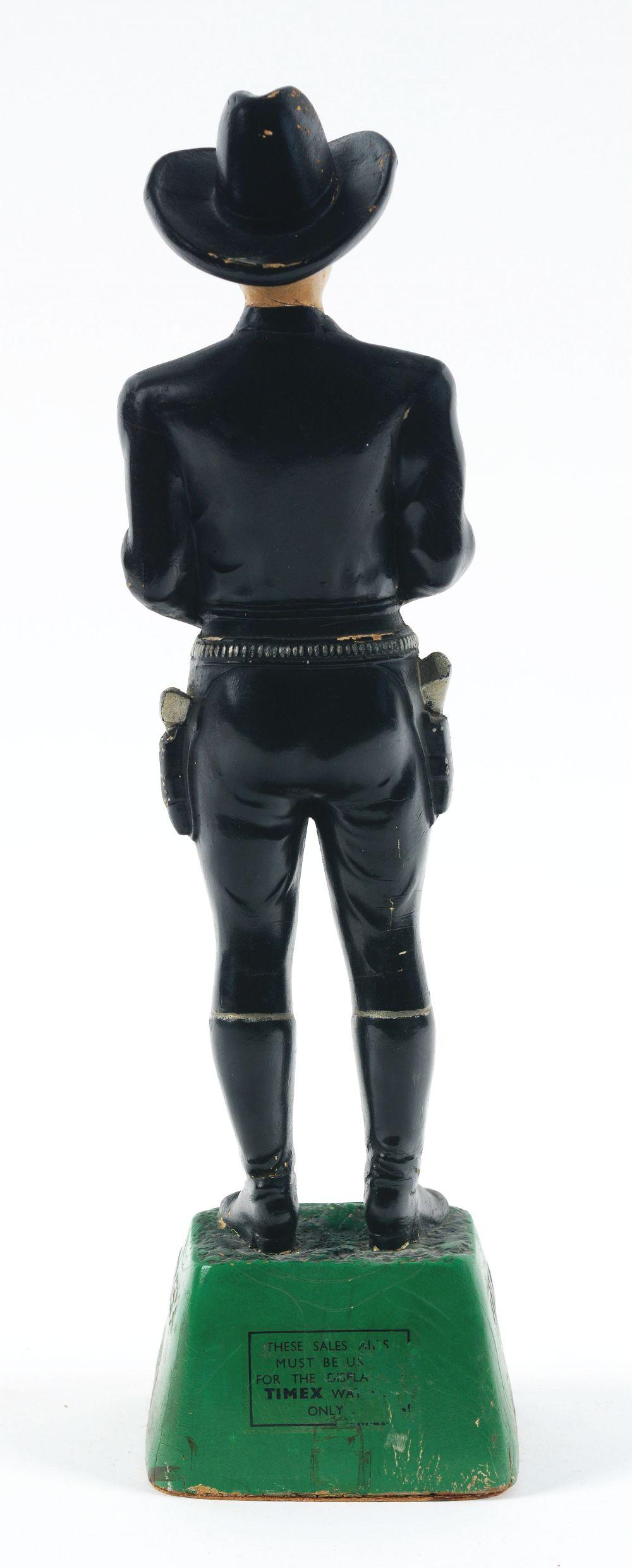Lot 2584: Hopalong Cassidy Timex Advertising Figure.