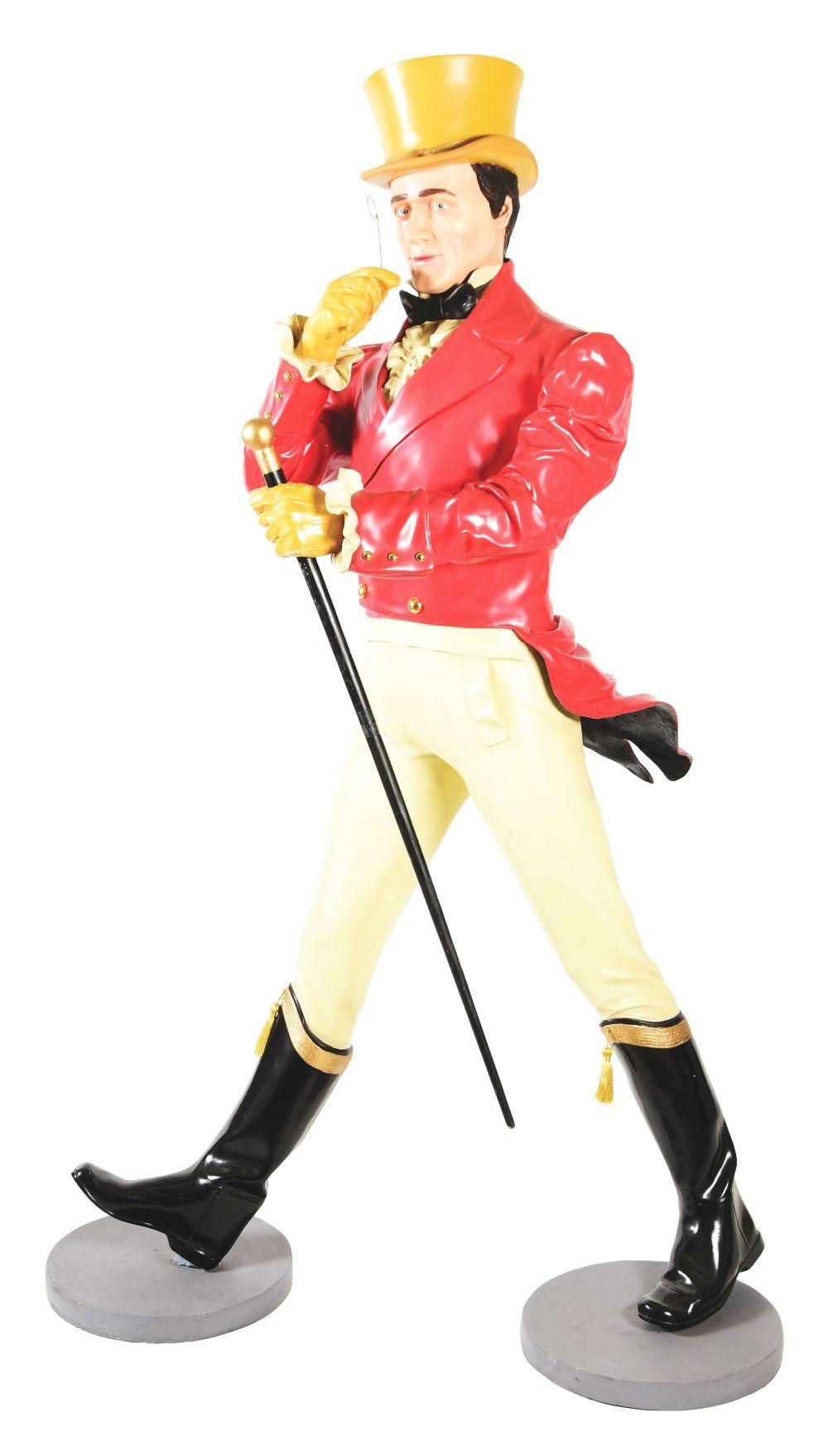 Lot 2587: Johnny Walker Advertising Figure.