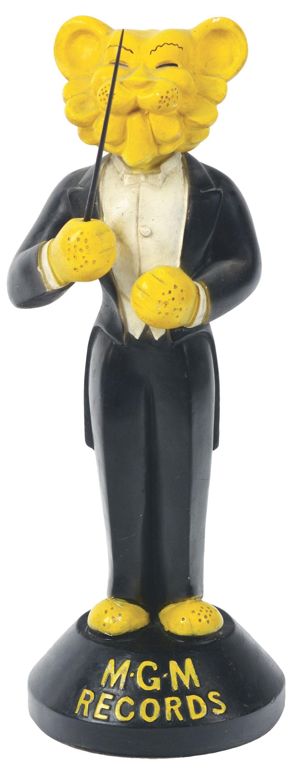 Lot 2585: MGM Records Advertising Figure.