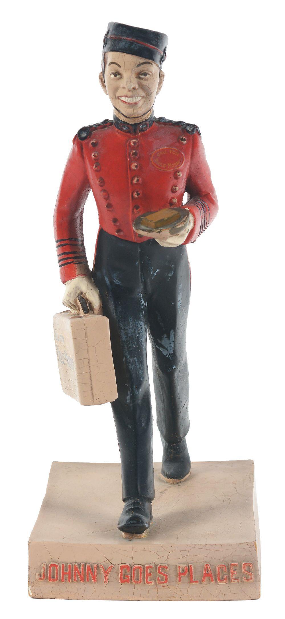 Lot 2589: Philip Morris Advertising Figure.